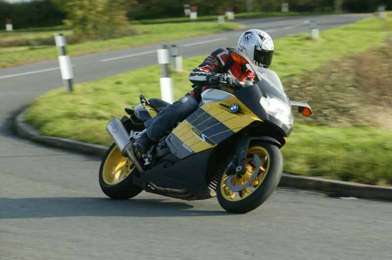 2008 BMW k1200s review