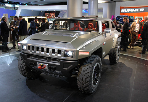 2018 Hummer H2 feature