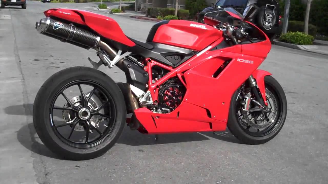 Ducati 1098 specs