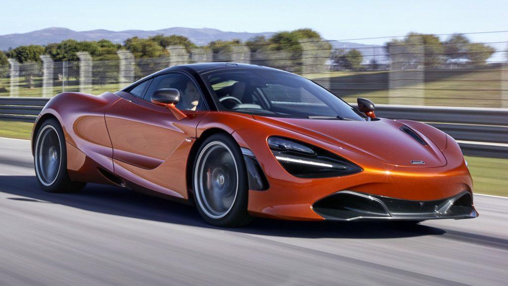 McLaren 720S interior colors