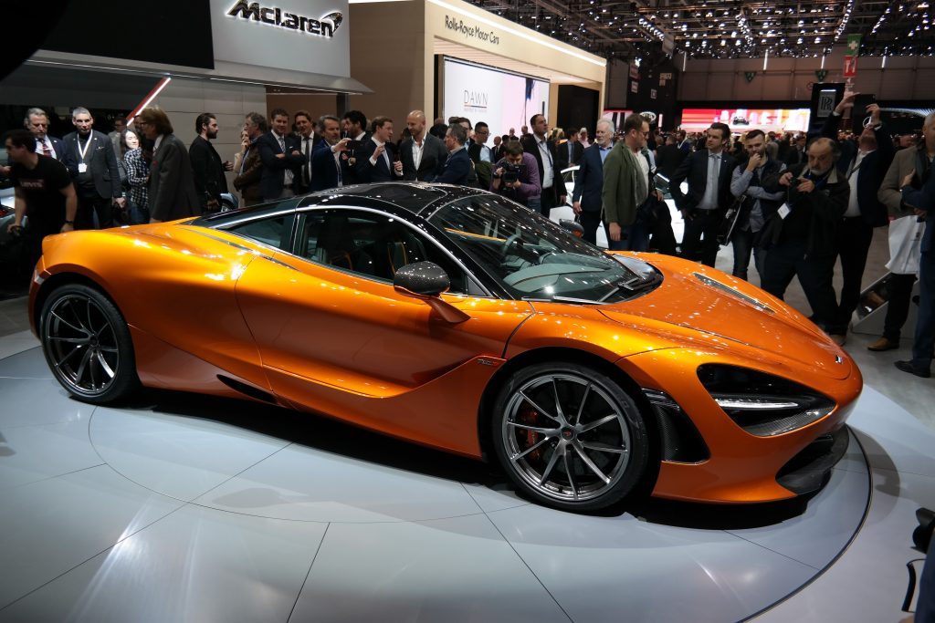 McLaren 720S top speed
