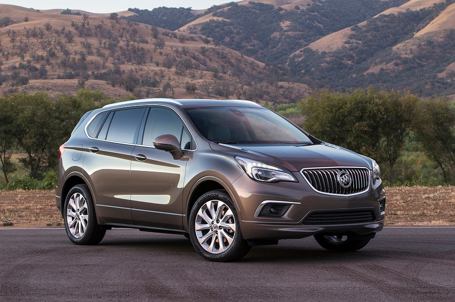 buick envision specs
