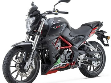 benelli tnt 25 top speed
