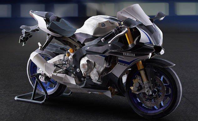 Yamaha r1m hp