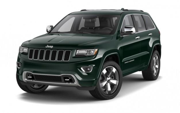 jeep grand cherokee green