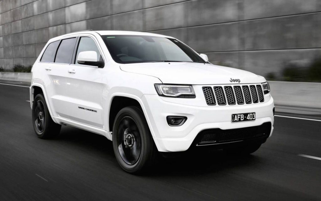 Jeep grand cherokee white