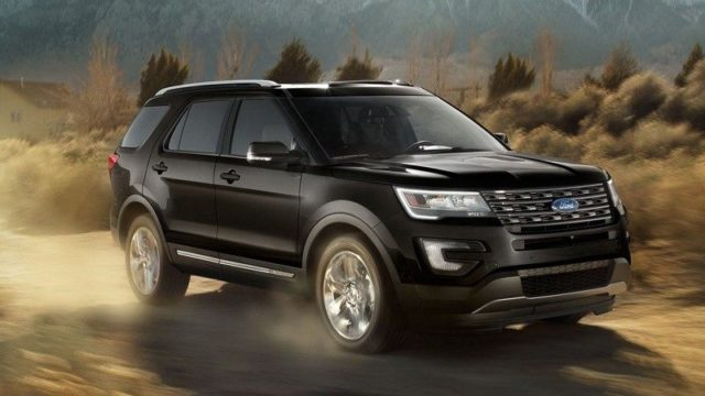 2019 Ford Explorer Concept Car And Bike