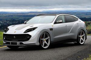 FerrariSUV new model