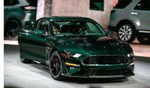 2019 Ford Mustang Bullitt Green model