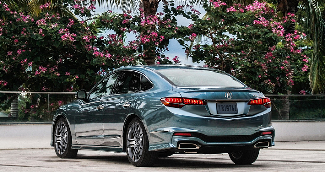 Acura RLX Redesign Ratings Specs And Photos Car And Bike - Acura hybrid 2018
