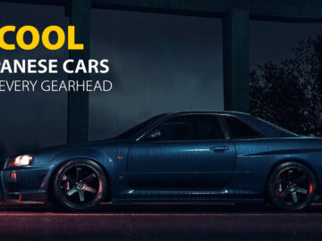 5 Cool Japanese Cars for Every Gearhead