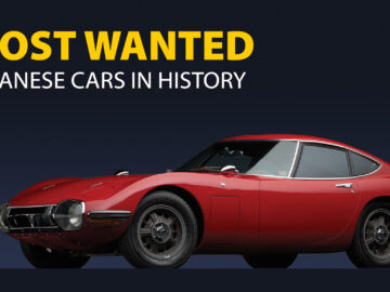 Most Wanted Japanese Cars In History